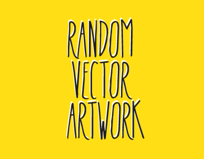 random vector artwork