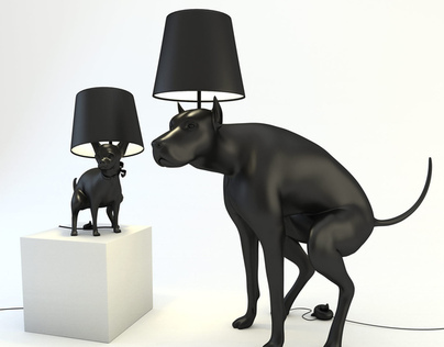 Dog Lamps - Good Boy and Good Puppy
