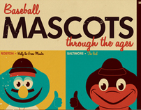 Baseball Mascots Through the Ages
