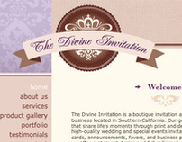 The Divine Invitation :: Website & Branding