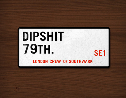 Dipshit x 79TH. Limited Skateboards.