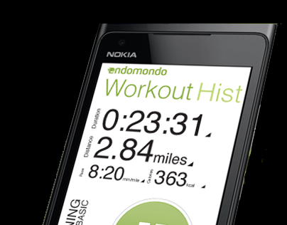 Redesign of Endomondo for Windows Phone