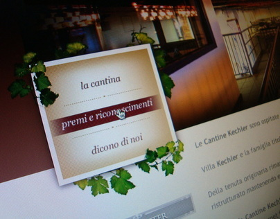 Cantina Kechler - Website