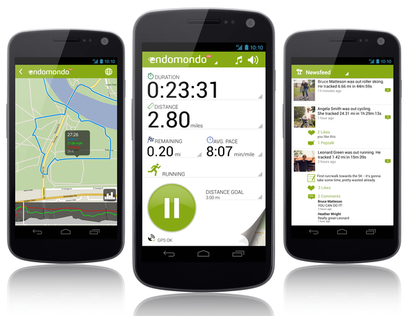 Endomondo Android Design