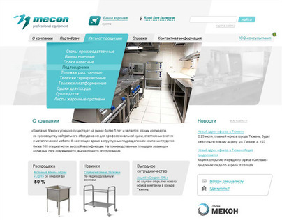 Mecon — website