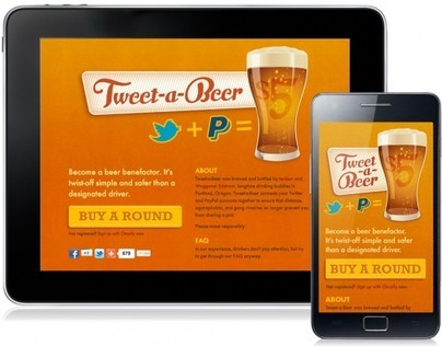 Tweet-a-Beer - Mobile Web App