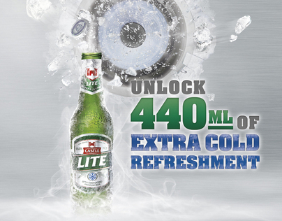 Castle Lite 440ml