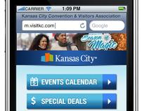 KCCVA—Mobile Site