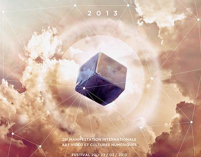 Videoformes Festival 2013 poster