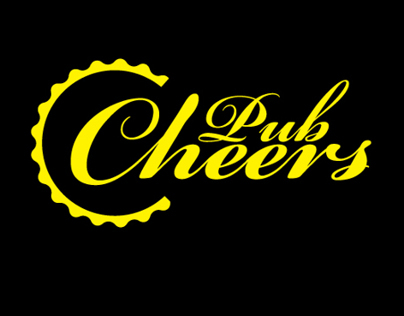 Cheers Pub logo design (july 2010)