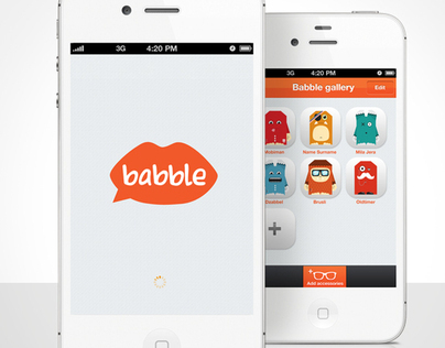 Babble iPhone app