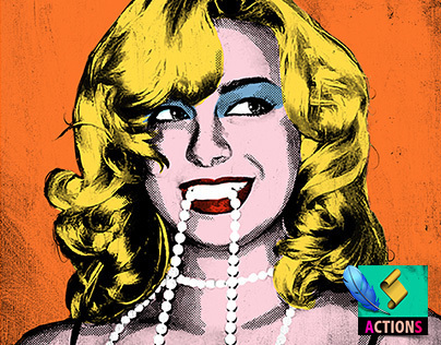 CREATE POP ART (Warhol Style) - Photoshop Action