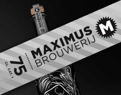 Maximus Brouwerij, 75 cl. bottle Brutus