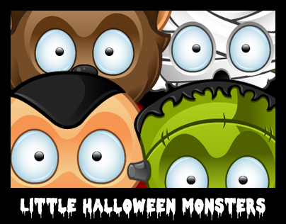 Little Halloween Monsters