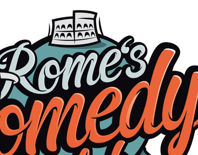 Romes comedy club - Logotype