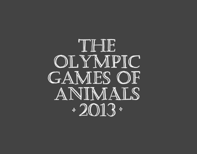 The Olympic Games of Animals 2013