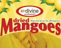 Divine America Dried Mangoes