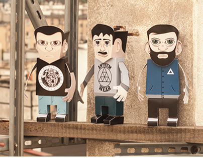 anthem wear - papertoys