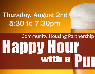 Happy Hour with a Purpose (FUNDRAISER)