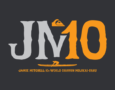 JAMIE MITCHELL 10X CHAMPION