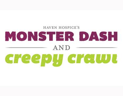 Monster Dash & Creepy Crawl Logo