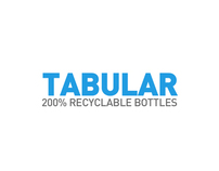 Tabular - 200% Recyclable Water Bottles