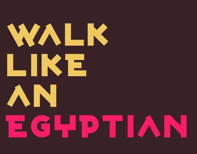Walk Like An Egyptian Pinterest Challenge!