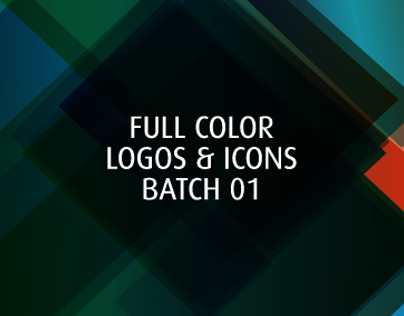 FULL COLOR LOGOS & ICONS BATCH 01