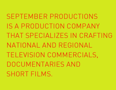 September Productions