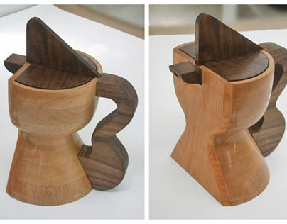 Rooster Coffee Pot / product design