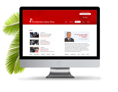 Mauritius Labour Party website