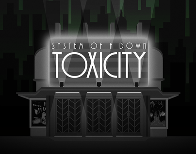 Art Déco T-Shirt - System of a Down - Toxicity