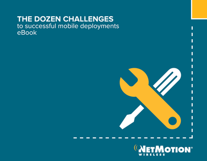 NetMotion Wireless Dozen Challenges eBook