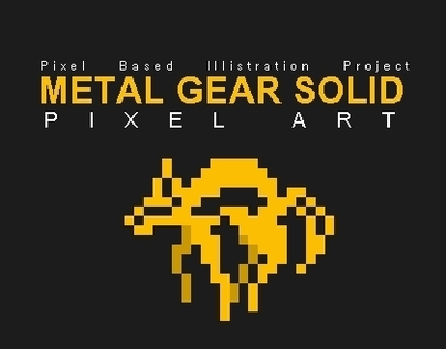 Metal Gear Solid: Pixel Art