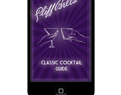 Cliff Bells Guide to Classic Cocktails Smart Phone App