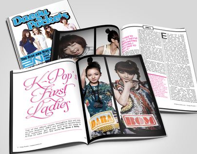 Daegu Pockets Magazine Spreads