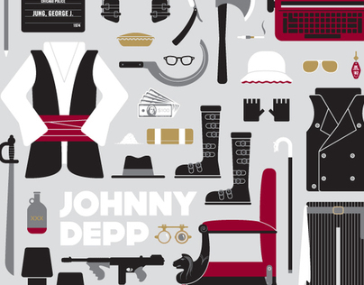 Johnny Depp Movie Parts | Limited Edition Poster