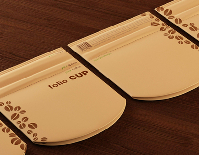 Folio Cup - a pack for instant coffee