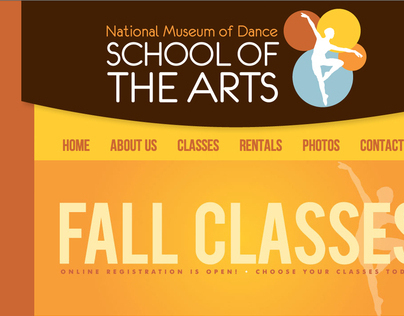 School of the Arts Website