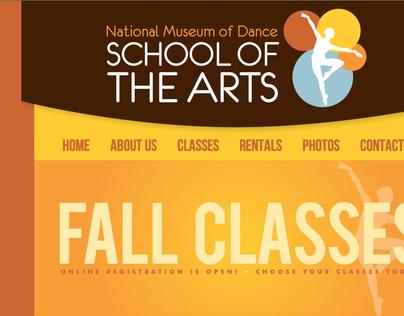 School of the Arts Website