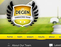 Redesign Degen Simracing Team