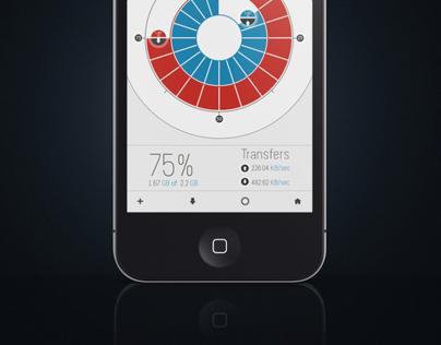 Link Pad IOS application icon + ui design