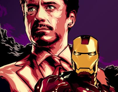 Tony Stark is IRONMAN