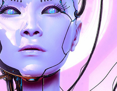 Cyborg Workshop for Advanced Photoshop Magazine