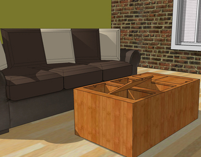 Amie - Resten Coffee Table