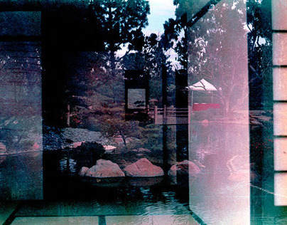 Double Exposed Garden