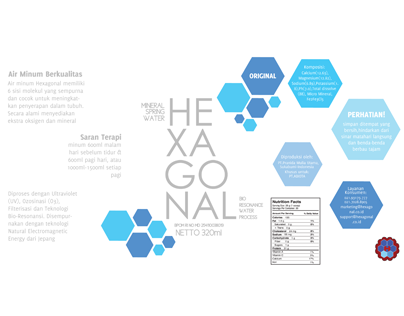 hexagonal (beverage packaging)