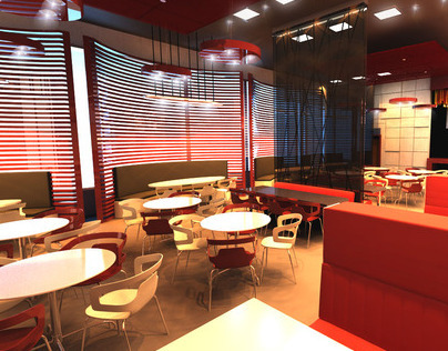 restaurant design and 3D