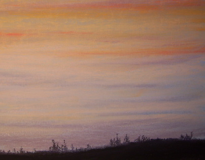 Sunset on Canvas
