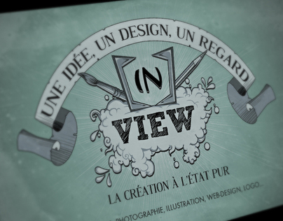 Recherche didentité visuelle pour le collectif inView